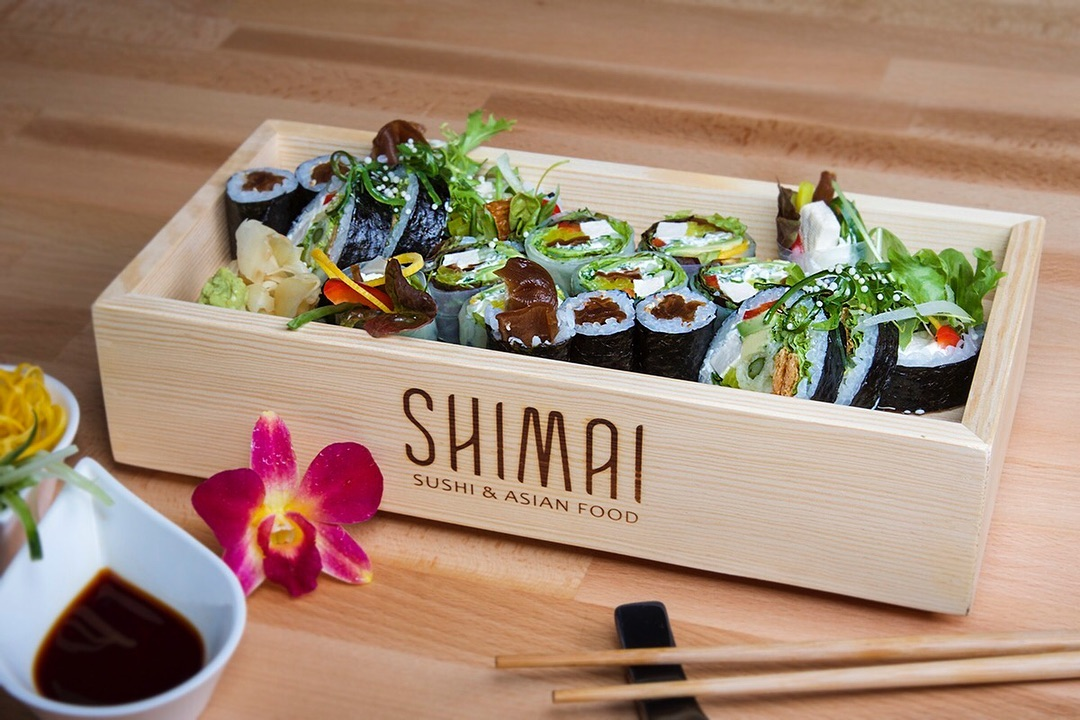 mostek sushi